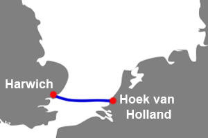 hoek van holland Harwich